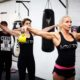 Boditone ladies working out with weights