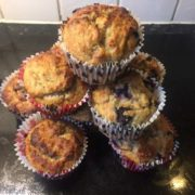 Healthy Sweet Treat, Coconut and Honey Cupcakes