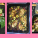 Curried Chicken tray bake, family meals, easy chicken tray bake, healthy family meals, quick and easy chicken recipe
